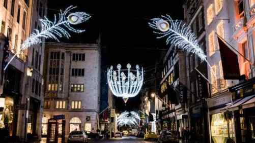 Bond Street, Christmas lights in London