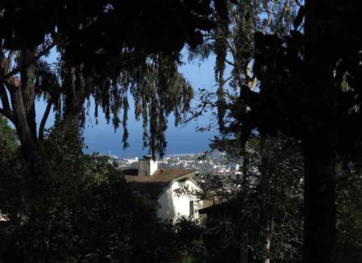 Incredible view from the hills of Santa Barbara