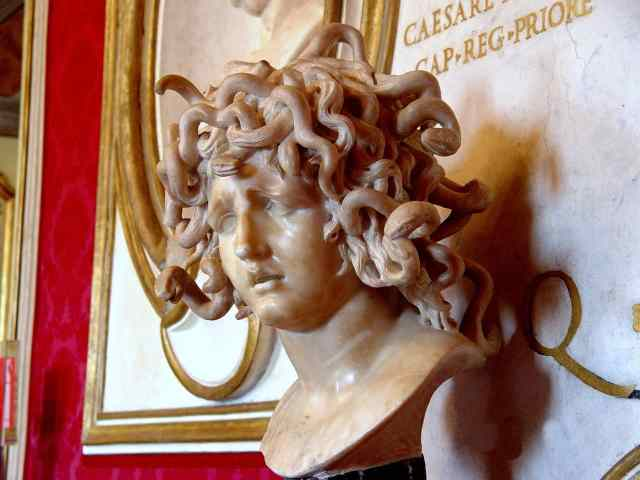 The Medusa at the Vatican Museum