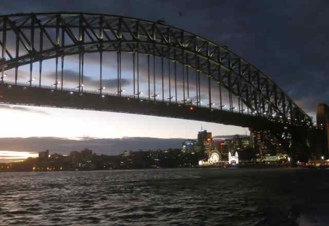 harbour bridge, empty nest, sydney