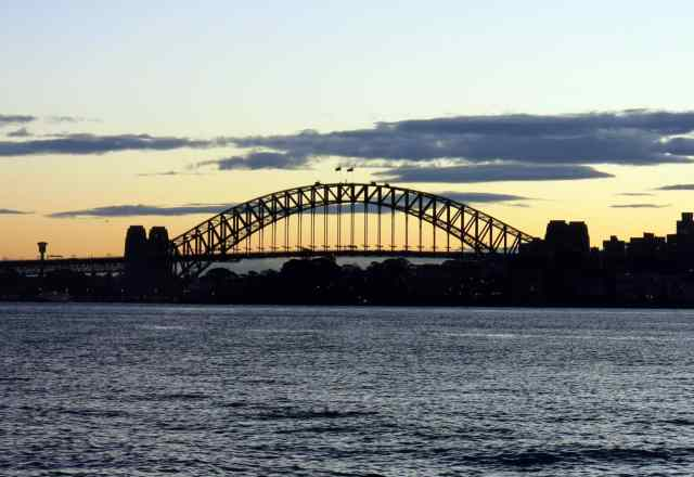 sydney, empty nest, sunset