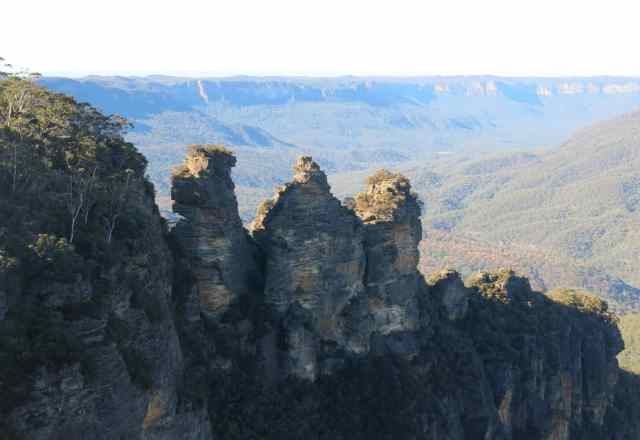 empty nest travel, blue mountains, three sisters