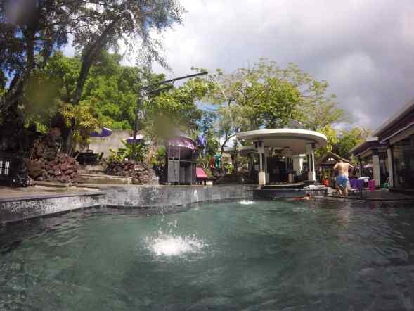 volcano, batur, hot springs, bali