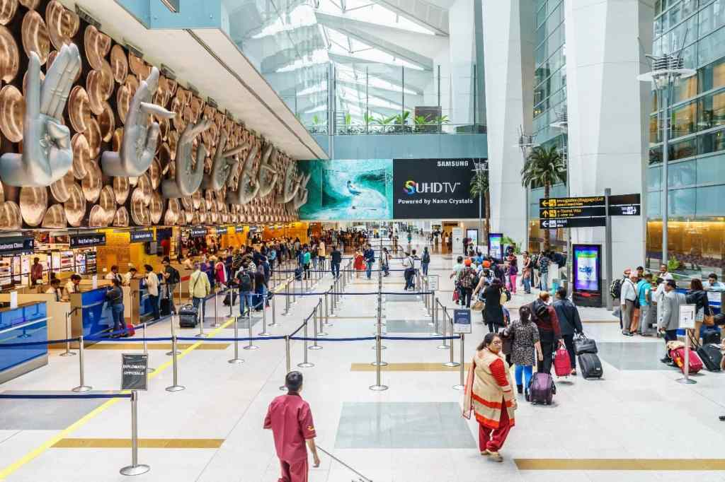 delhi, delhi airport, india