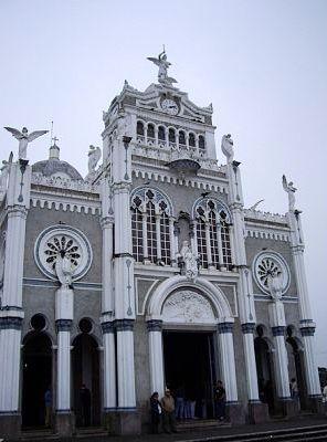 Front of Basilica de Nuestra Senora de los Angeles, Cartago, Costa Rica