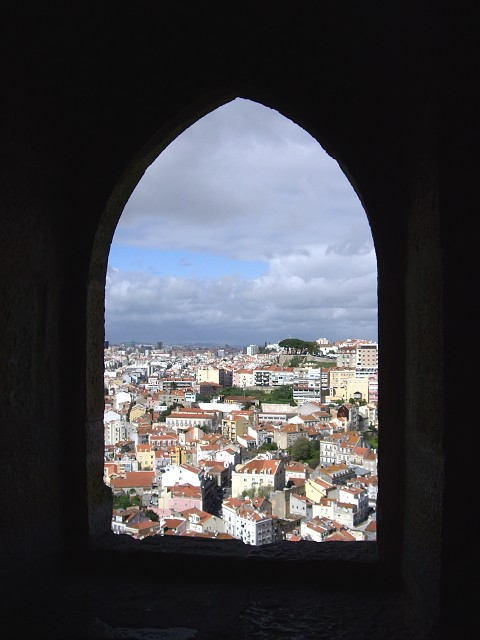 View from Catedral Sao Jorge