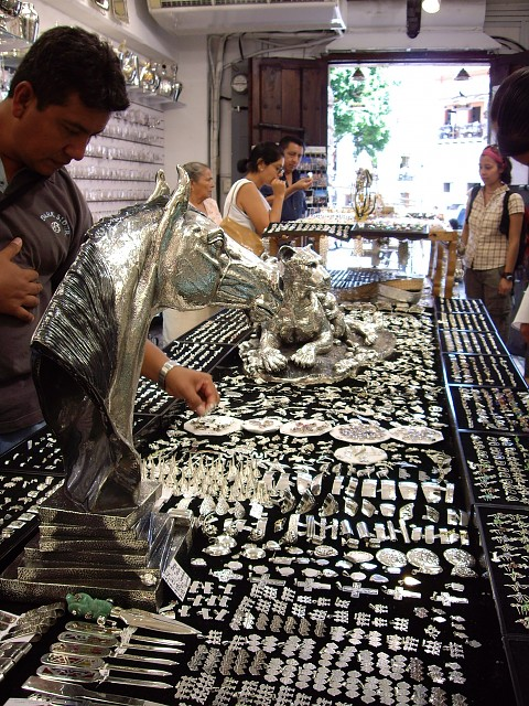 Silver Shop, Taxco, Mexico
