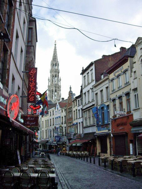 En Route to Grand Place. Brussels, Belgium