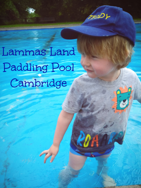 Ted at Lammas Land Paddling Pool, Cambridge