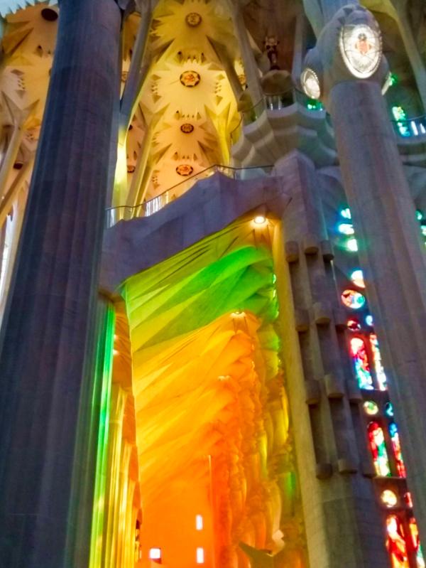 Sargrada Familia Colours