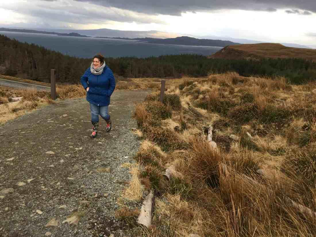 hiking on Isle of skye
