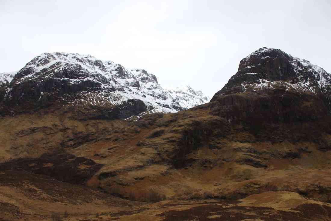 snow capped glencoe