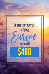 Flying is often the most expensive part of traveling. Why not find the very least expensive option. It often comes down to smart shopping. Learn my best secret!