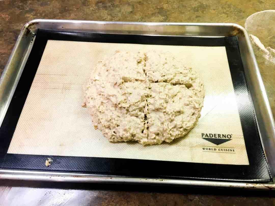 Irish bread baking9
