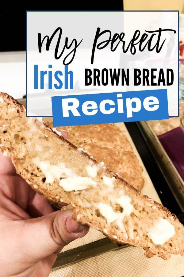 My Perfect Irish Brown Bread