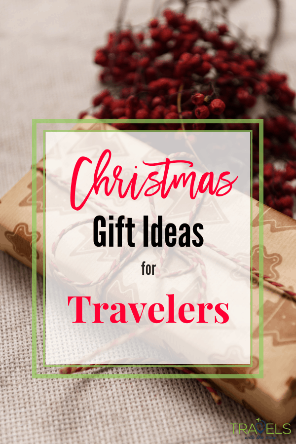 Christmas Gift ideas for Travelers! It's hard to find the perfect gift, but with this list, you are sure to delight everyone on your list! #Travelgiftguide #giftsfortravelers #travelgift