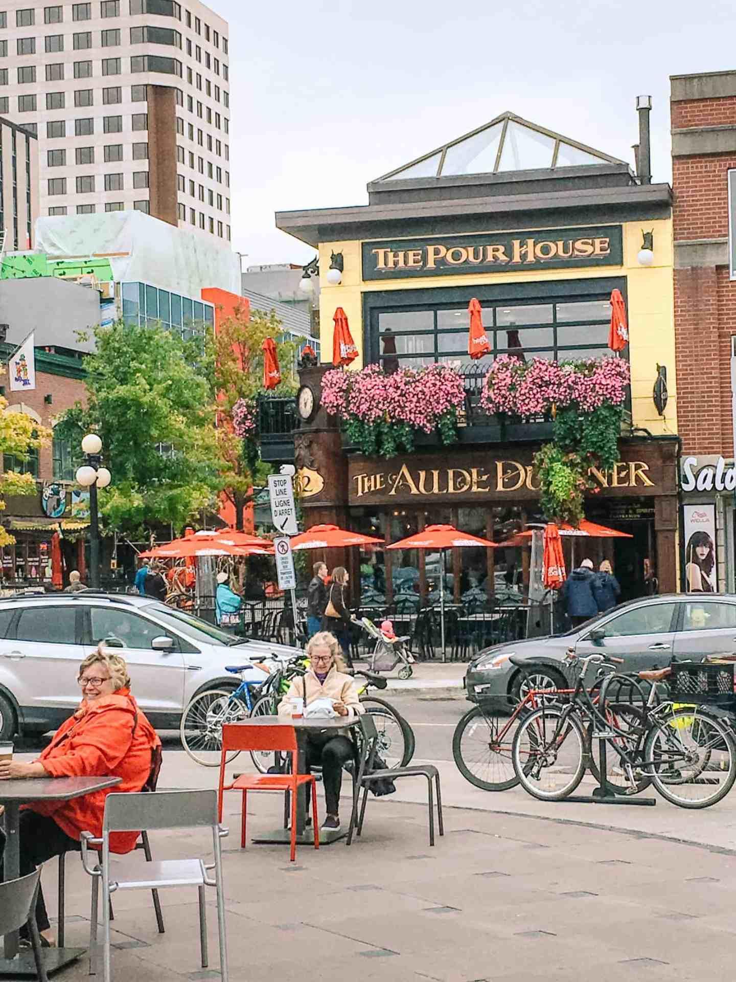 Ottawa travel,Scene near ByWard Market, Ottawa