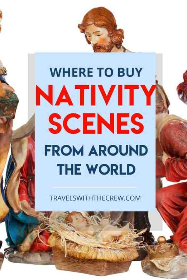 nativity scenes can bring the spirit of Christmas into your home. Here are the best places to buy international nativity scenes to decorate your home for christmas.