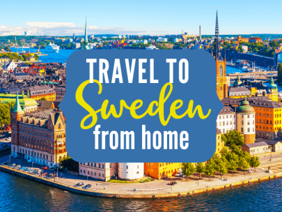 Travel to Sweden from home {Travel the World from Home Series}