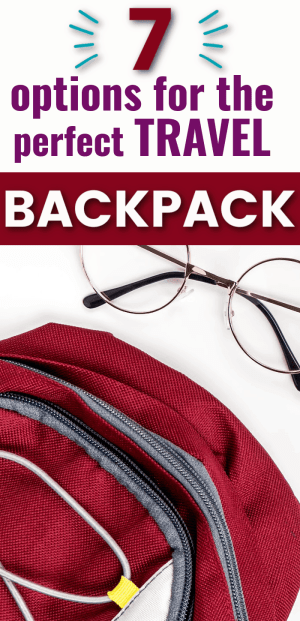7 super useful travel backpacks for women. Don't leave home for a trip without one of these highly rated backpacks. Tourist backpack, travel backpack, diaper backpack.