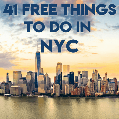 41 Free Things to Do in NYC