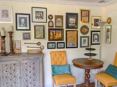 How to create a travel gallery wall
