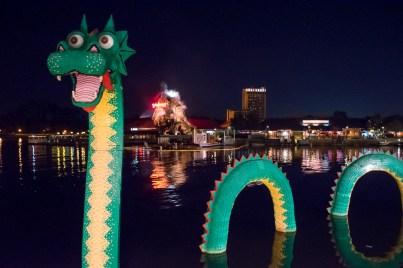 Downtown Disney Dragon
