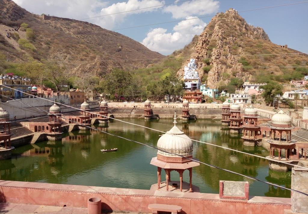 Sagar Lake Behind City Palace Alwar