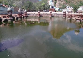 Sagar Lake At Moosi Maharani Ki Chhatri