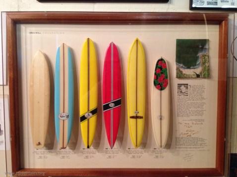 Texas Surf Museum Greg Noll cabinet
