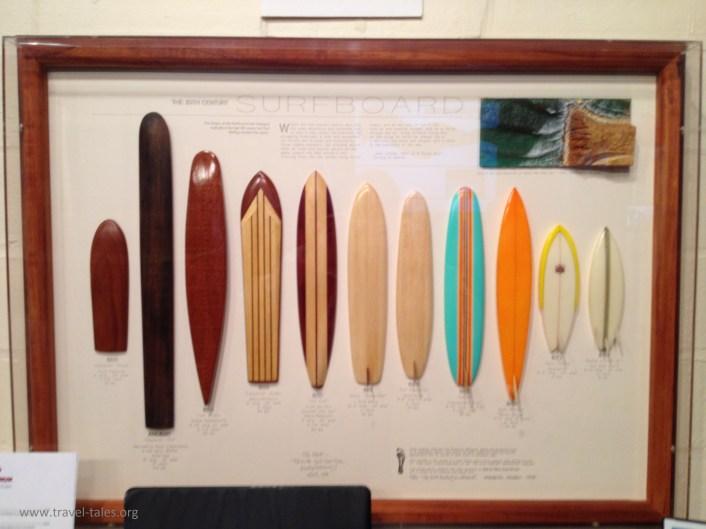 Texas Surf Museum Surfboard development cabinet