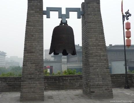 Xi'an 2 croped belll at east gate