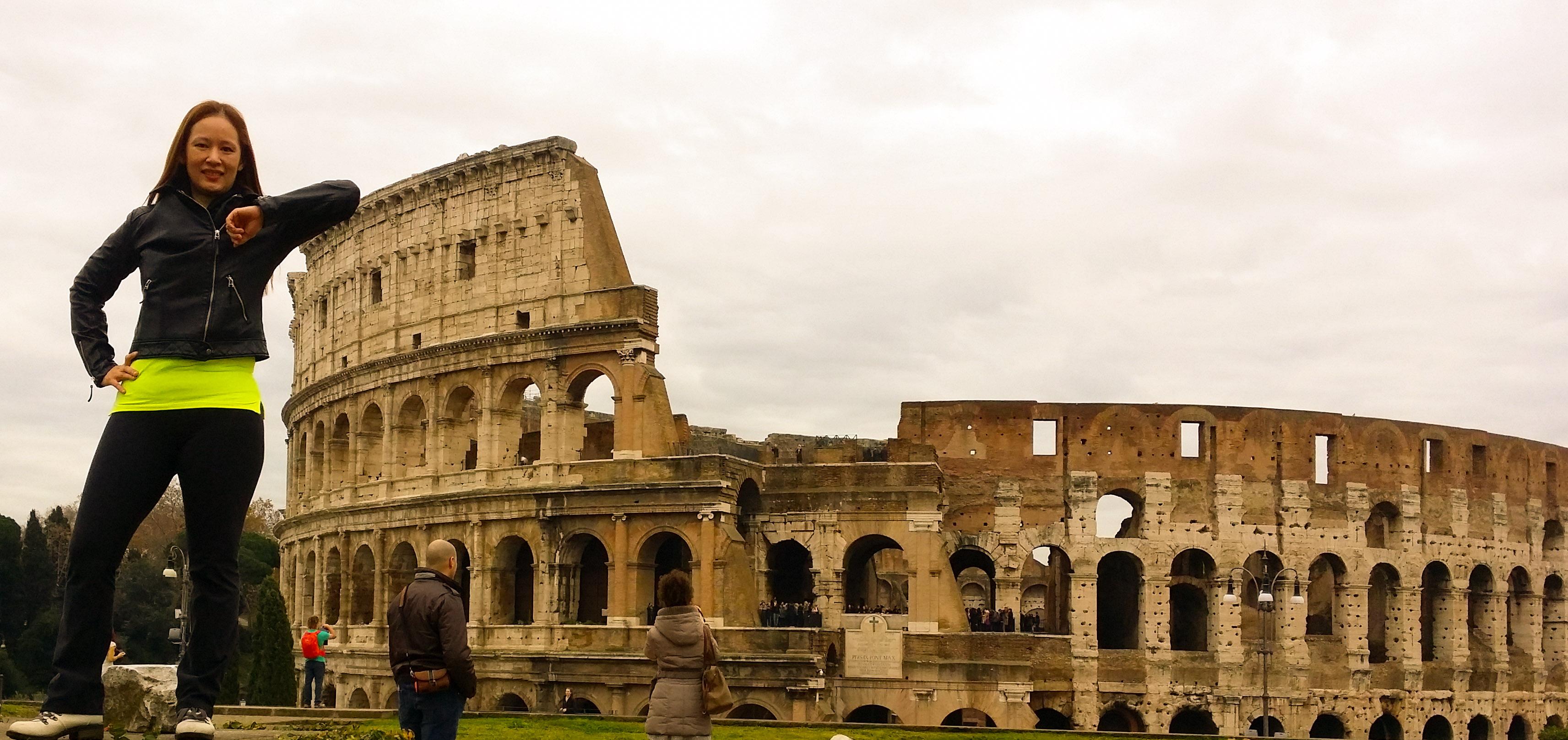 The Roman Colosseo