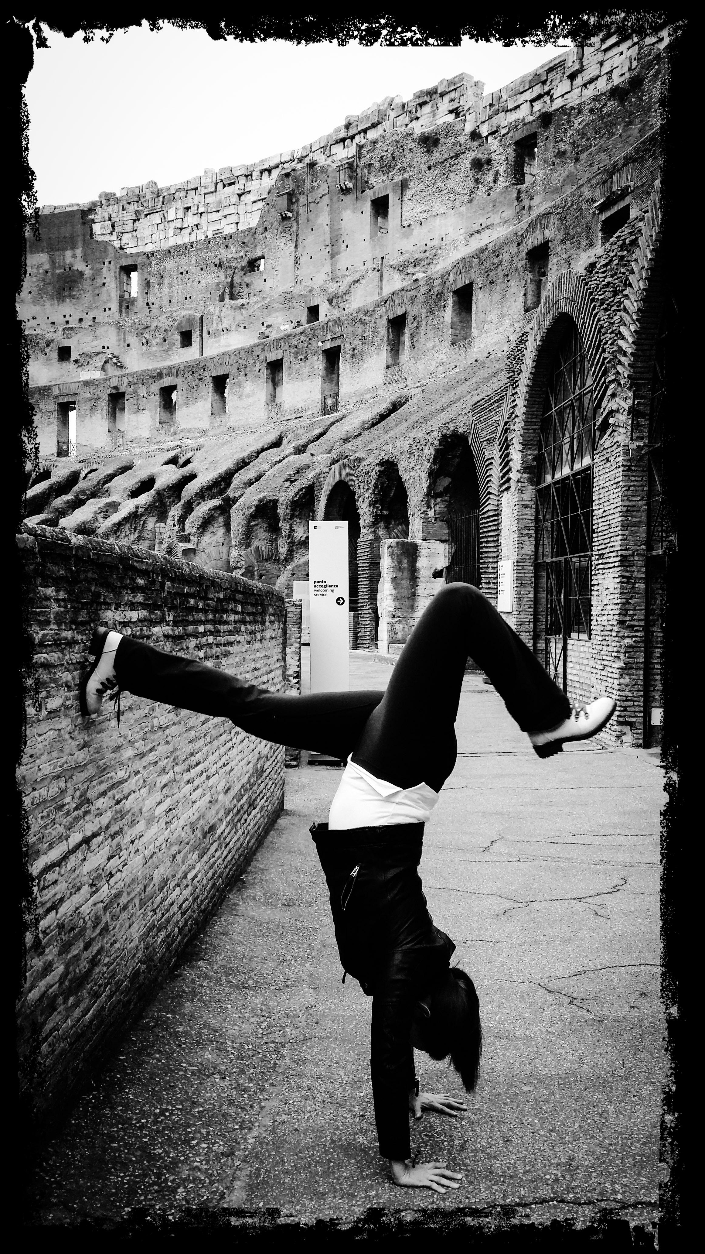 Handstanding across Rome