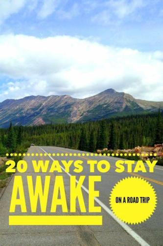 20 tips to prevent falling asleep while driving