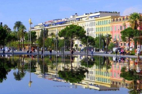 Reflecting pools Nice France