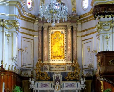 Black Madonna-Church of Santa Maria Assunta Positano