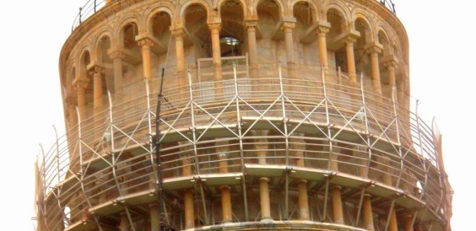 Architecture of the Leaning Tower of Pisa