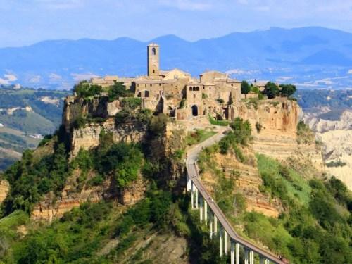 Italian hilltop towns