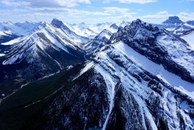 Helicopter Tour Rockies