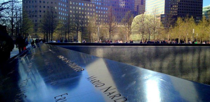 September 11 Ground Zero New York Memorial Pool