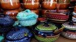 Pottery souvenirs Mexico