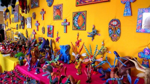 Mexican handicraft souvenirs