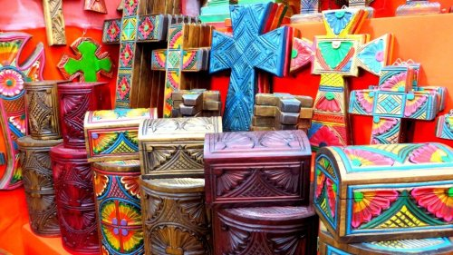 Mexico handicraft souvenirs