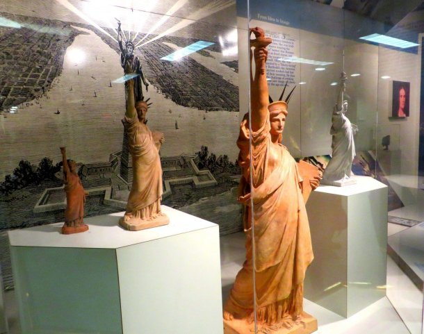 Models proposed for the Statue of Liberty