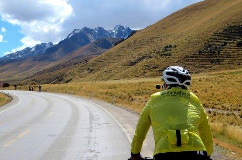 Peru La Raya pass cycling