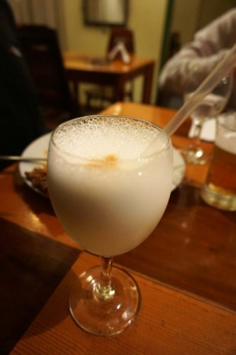 Drinl of Peru Pisco Sour