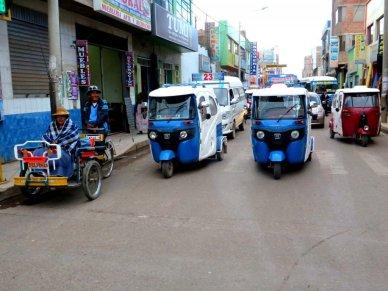 Mototaxi Traffic in Peru