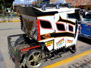 Mototaxis of Peru