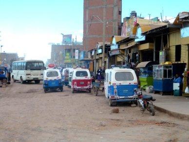 Smuggling activity in Juliaca Peru